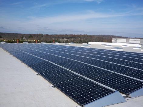 LightWave Solar installed 200 solar panels at Permobil in Lebanon, TN.
