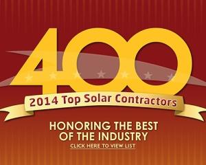 LightWave Solar on 2014 Top 400 Solar Contractor's List